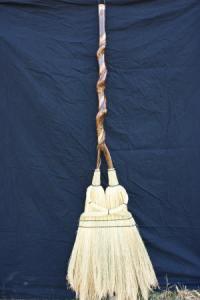 Cherry-handle-Wedding-broom