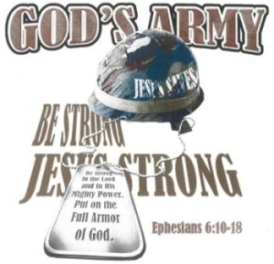 Gods army Jesus Strong