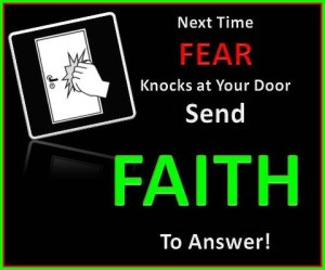fear faith
